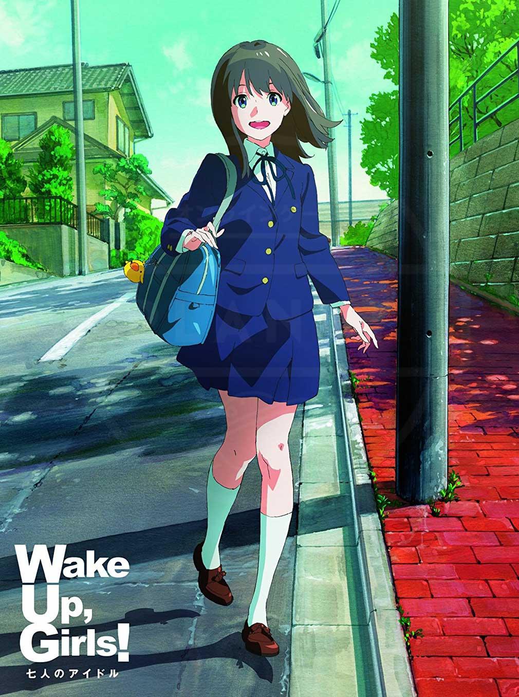 劇場アニメ『Wake Up, Girls! 七人のアイドル』キービジュアル