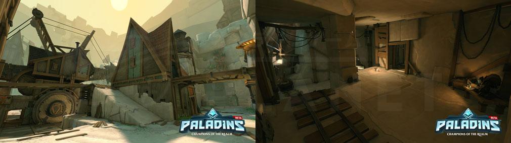 Paladins(パラディンズ) Champions of the Realm PC 入り組んだMAPスクリーンショット