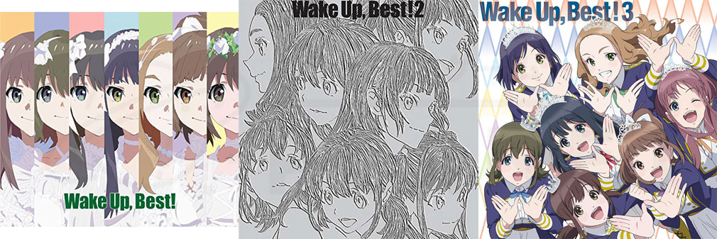 『Wake Up, Girls!(WUG)』CD BESTパッケージイメージ