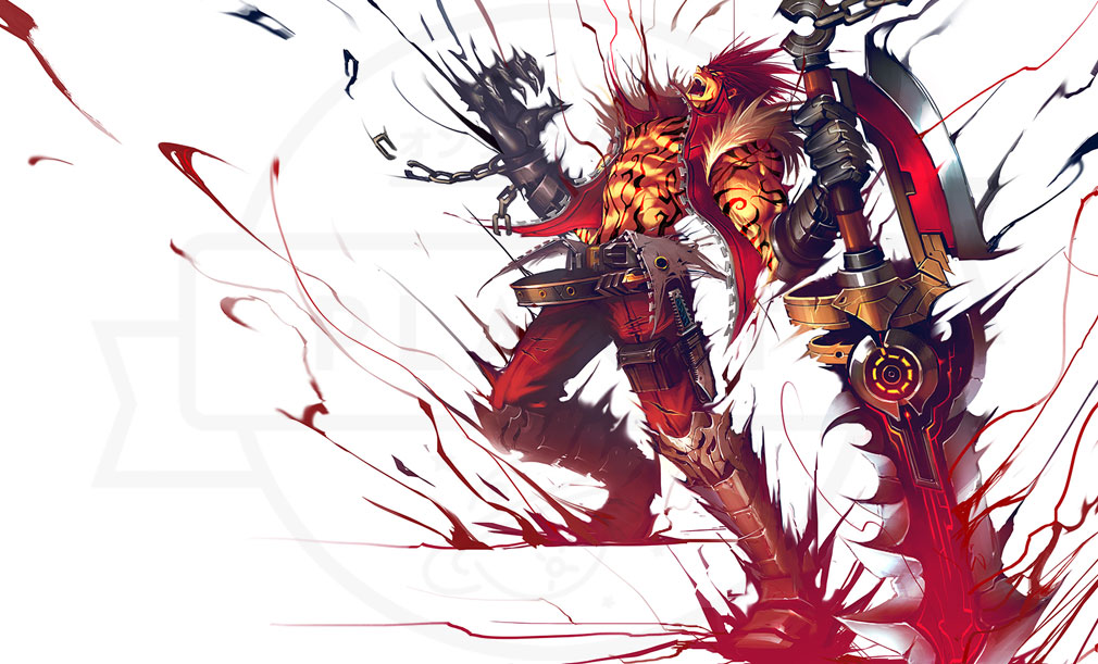 KRITIKA Revolution(クリティカR) 戦士二次職『狂戦士』イメージ