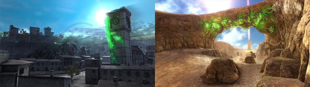 ボーダーブレイクPS4版 戦場MAPイメージ