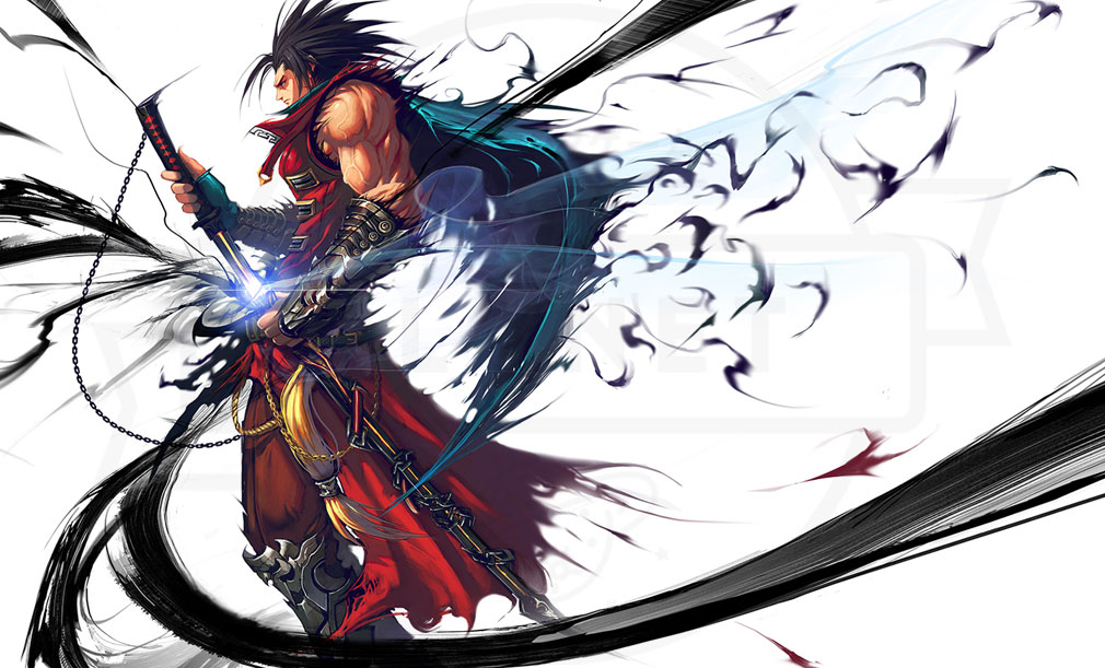 KRITIKA Revolution(クリティカR) 戦士二次職『魔剣士』イメージ
