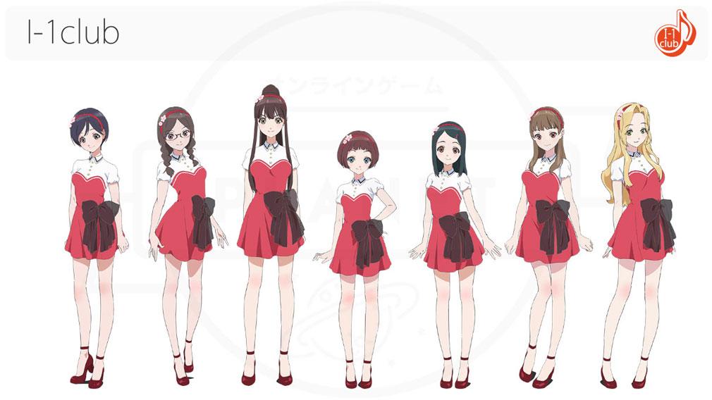 Wake Up Girls!新星の天使(WUG天) PC その他アイドルユニット『I-1club』イメージ