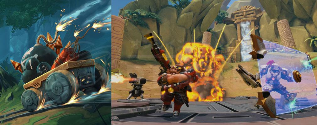 Paladins(パラディンズ) Champions of the Realm PC ゲームモード『Siege(セージ)』バトルスクリーンショット