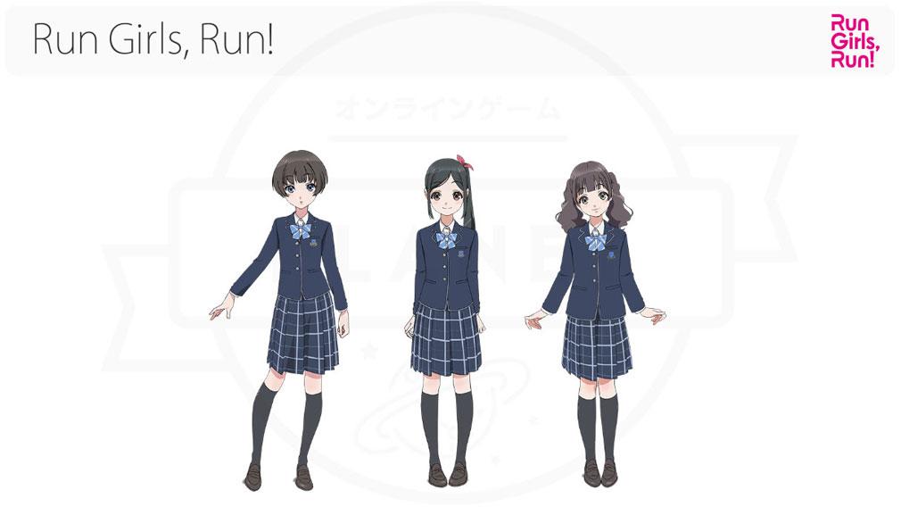 Wake Up Girls!新星の天使(WUG天) PC その他アイドルユニット『Run Girls, Run!』イメージ