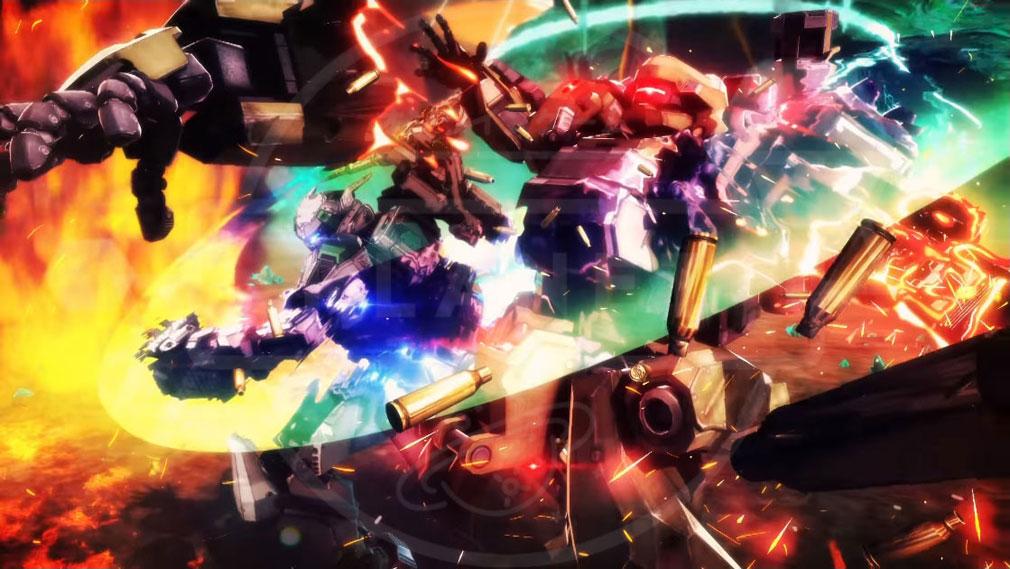 ボーダーブレイク PS4版ハイスピードロボットチームバトルイメージ