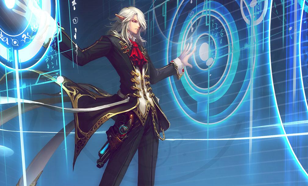 KRITIKA Revolution(クリティカR) 魔術師二次職『時空間術師』イメージ