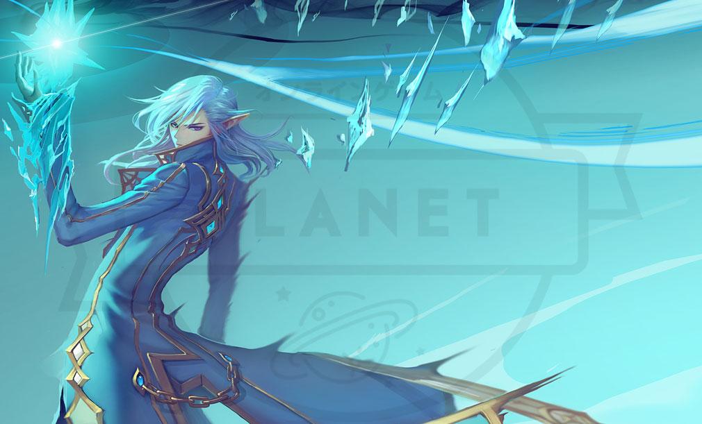 KRITIKA Revolution(クリティカR) 魔術師二次職『冷気術師』イメージ