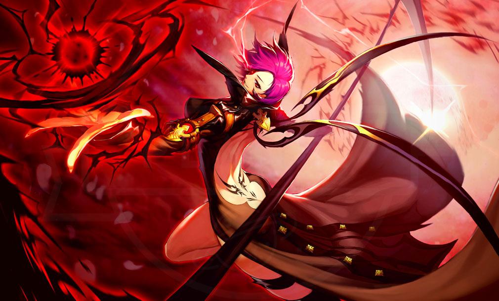 KRITIKA Revolution(クリティカR) 鎌術士二次職『血妖花』イメージ