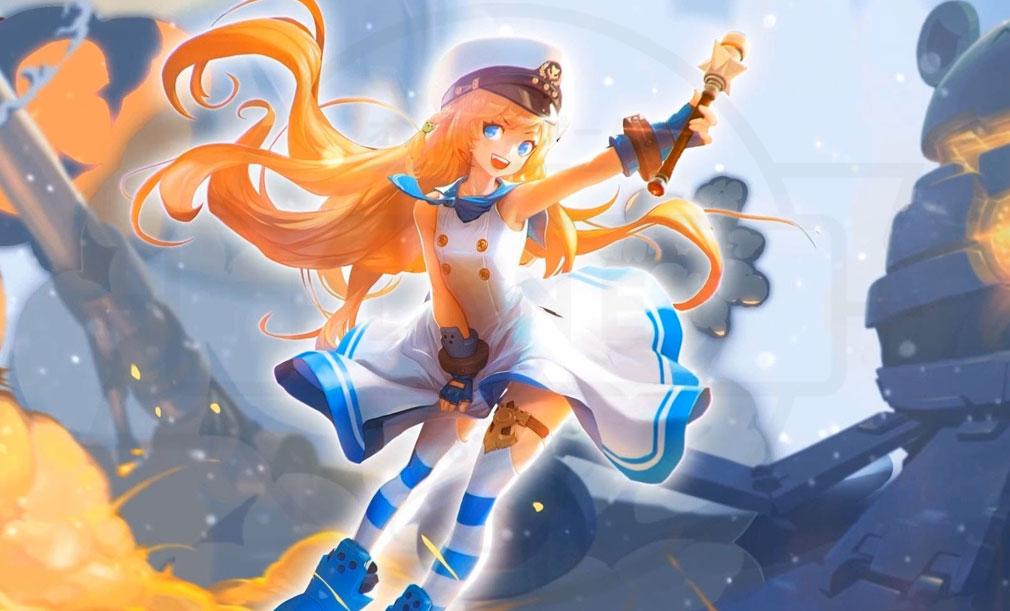 KRITIKA Revolution(クリティカR) 魔法少女二次職『機攻士』イメージ
