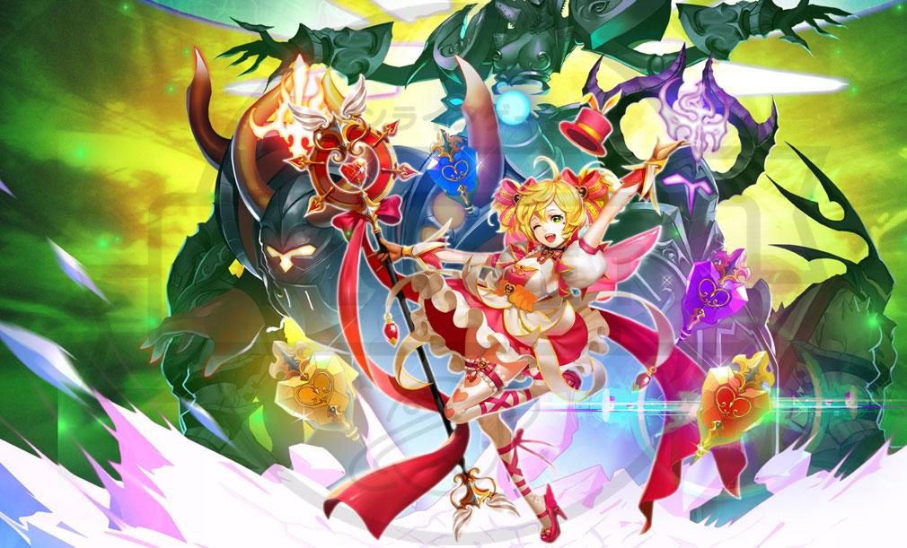 KRITIKA Revolution(クリティカR) 魔法少女二次職『精霊召喚士』イメージ