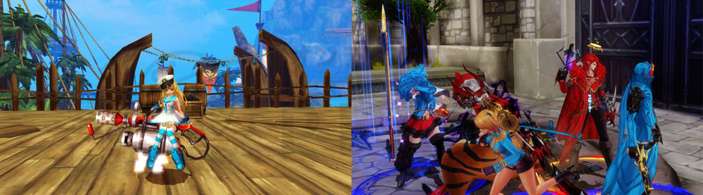 KRITIKA Revolution(クリティカR) 機攻士、イベントバトルスクリーンショット