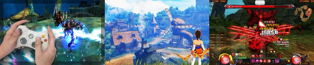 KRITIKA Revolution(クリティカR) バージョンアップしたゲーム紹介イメージ