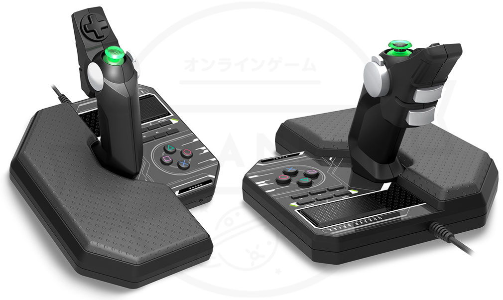 ボーダーブレイク PS4版専用のワイヤードコントローライメージ