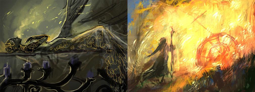 十三月のふたり姫 PC 『眠れる森の王女』『いばら姫』超解釈コンセプトアート