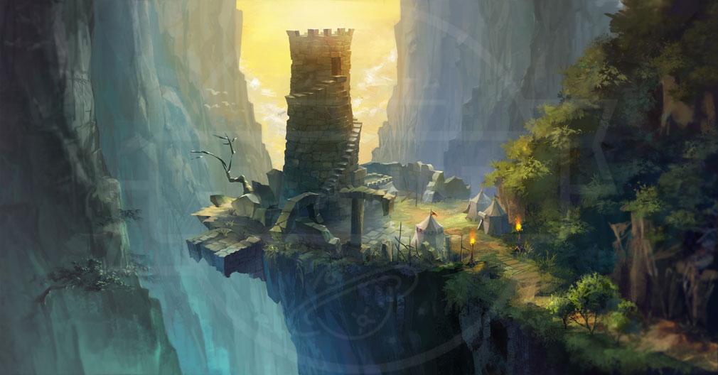 KRITIKA Revolution(クリティカR) ナザル絶壁監視塔イメージ