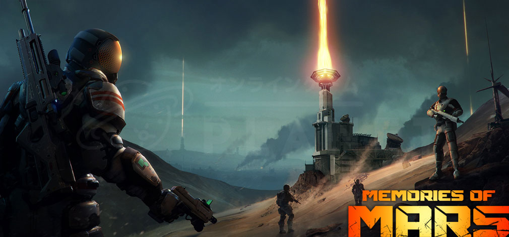 Memories of Mars(メモリースオブマーズ) PC キービジュアル