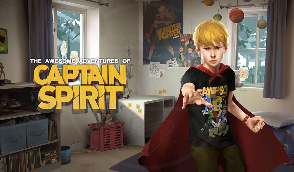 キャプテンスピリット(The Awesome Adventures of Captain Spirit) PC メインイメージ