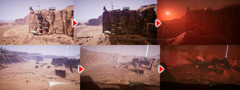 Memories of Mars(メモリースオブマーズ) PC 時間で変化する景観スクリーンショット