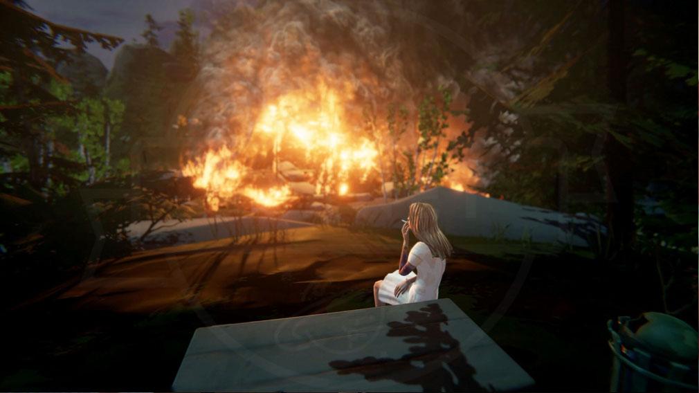 ライフ イズ ストレンジ ビフォア ザ ストーム(Life is Strange Before the Storm) PC 『謎の女性』(CV:三木美)スクリーンショット