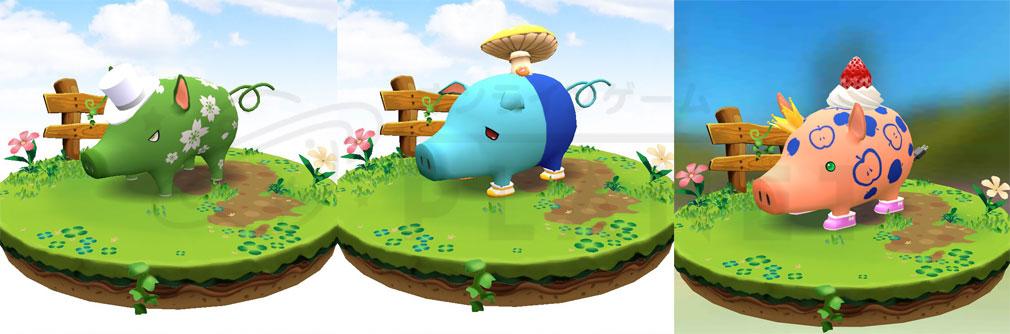 くりぷ豚(トン) Crypt Oink PC レア『くりぷ豚』たちのイメージ