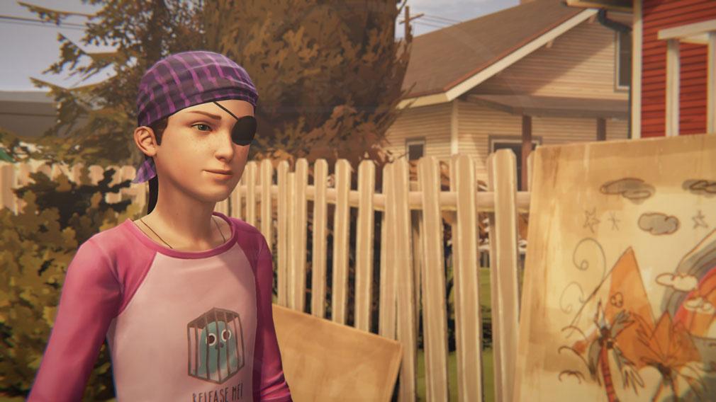 ライフ イズ ストレンジ ビフォア ザ ストーム(Life is Strange Before the Storm) PC 前作主人公『幼少期マックス(Maxine Caulfield)』CV:たなか久美スクリーンショット