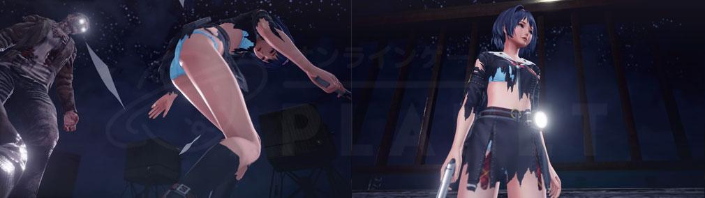 スクールガールゾンビハンター (SG/ZH School Girl/Zombie Hunter) PC 衣服ビリビリシステムの演出スクリーンショット