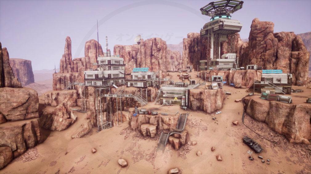 Memories of Mars(メモリースオブマーズ) PC 『ビルド』と呼ばれる拠点・ホームベース基地スクリーンショット
