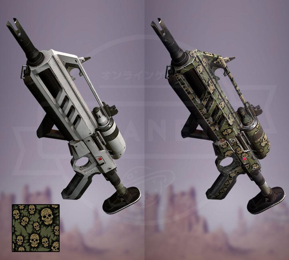 Memories of Mars(メモリースオブマーズ) PC 通常武器とカラーパターンカスタマイズ武器スクリーンショット