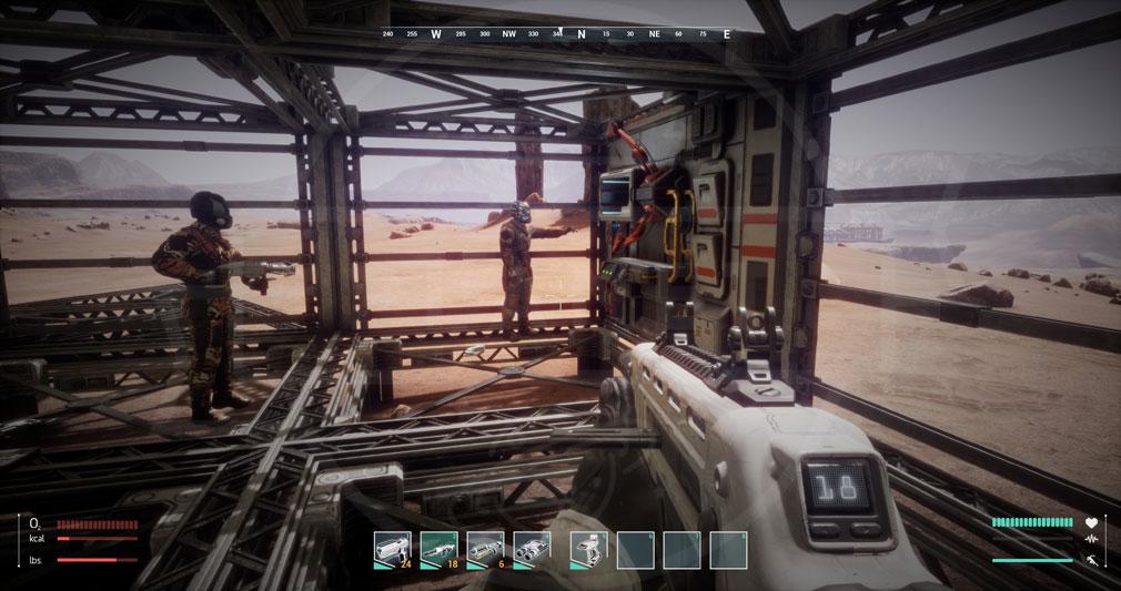 Memories of Mars(メモリースオブマーズ) PC 屋内で収集していくスクリーンショット