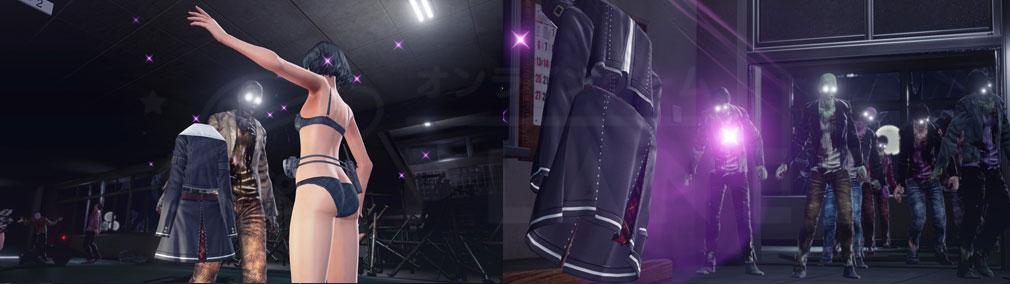 スクールガールゾンビハンター (SG/ZH School Girl/Zombie Hunter) PC 制服をデコイに使いゾンビをおびき寄せるスクリーンショット