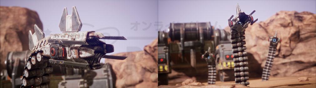 Memories of Mars(メモリースオブマーズ) PC MambaとViperバーションの敵スクリーンショット