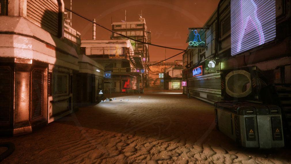 Memories of Mars(メモリースオブマーズ) PC 荒廃したタウンスクリーンショット