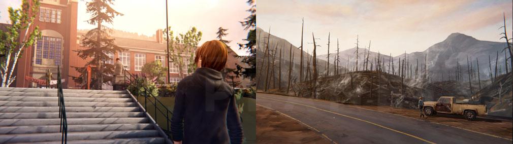 ライフ イズ ストレンジ ビフォア ザ ストーム(Life is Strange Before the Storm) PC ブラックウェル・アカデミー、アルカディア・ベイのスクリーンショット