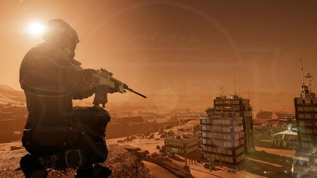 Memories of Mars(メモリースオブマーズ) PC 世界観スクリーンショット