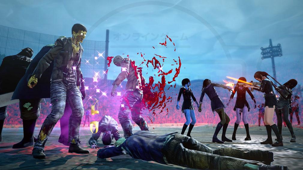 スクールガールゾンビハンター (SG/ZH School Girl/Zombie Hunter) PC 衣服脱ぎ棄てのデコイ作戦は女ゾンビに効かないスクリーンショット