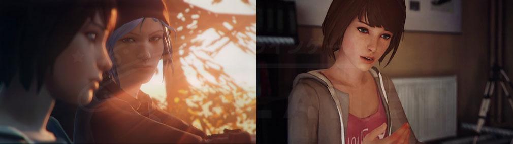 ライフ イズ ストレンジ(Life is Strange) PC 主人公『マックス』、親友『クロエ』のスクリーンショット