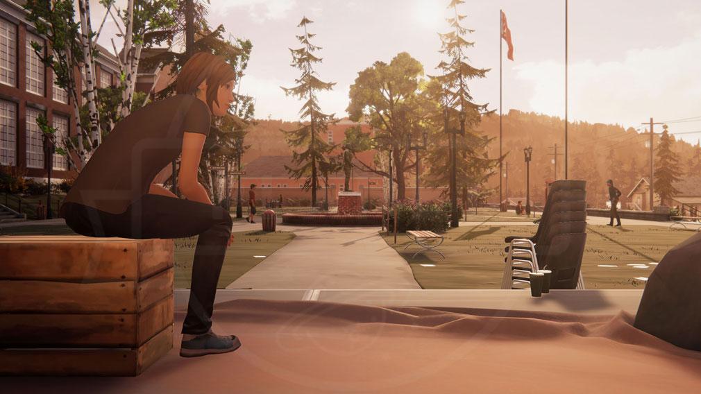 ライフ イズ ストレンジ ビフォア ザ ストーム(Life is Strange Before the Storm) PC ブラックウェル・アカデミーに通うクロエのスクリーンショット