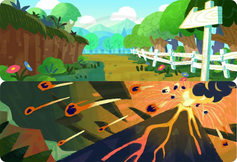 くりぷ豚レーシングフレンズ 様々な土地や地域の『探検』紹介イメージ