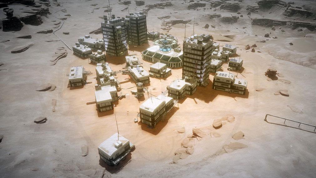 Memories of Mars(メモリースオブマーズ) PC POI、拠点ホームベースとなるスクリーンショット