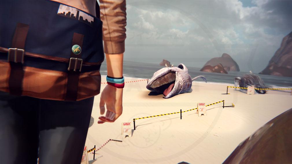 ライフ イズ ストレンジ(Life is Strange) PC 『アルカディア・ベイ』で何かが起こり始めるスクリーンショット