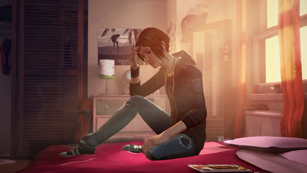 ライフ イズ ストレンジ ビフォア ザ ストーム(Life is Strange Before the Storm) PC 『クロエ』をメインに展開される物語スクリーンショット