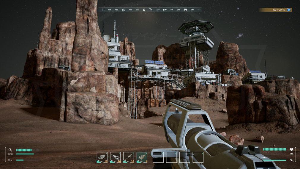Memories of Mars(メモリースオブマーズ) PC 敵クローン拠点攻撃スクリーンショット