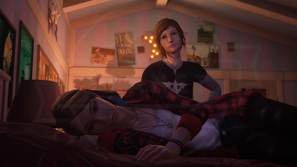 ライフ イズ ストレンジ ビフォア ザ ストーム(Life is Strange Before the Storm) PC 『レイチェル・アンバー』と『クロエ』が絆を築く物語スクリーンショット