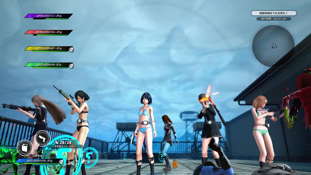 スクールガールゾンビハンター (SG/ZH School Girl/Zombie Hunter) PC 最大5人までの協力プレイスクリーンショット