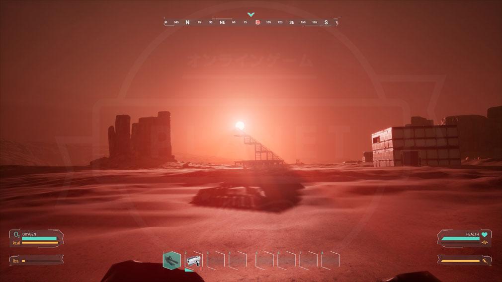 Memories of Mars(メモリースオブマーズ) PC 火星ならではの景観スクリーンショット