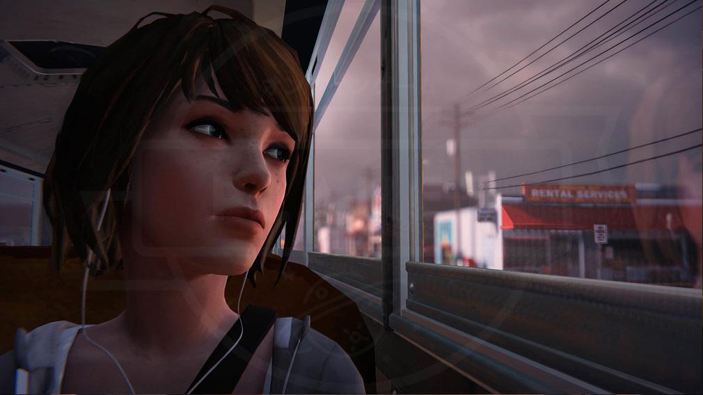 ライフ イズ ストレンジ(Life is Strange) PC バスの中の美麗グラフィックススクリーンショット
