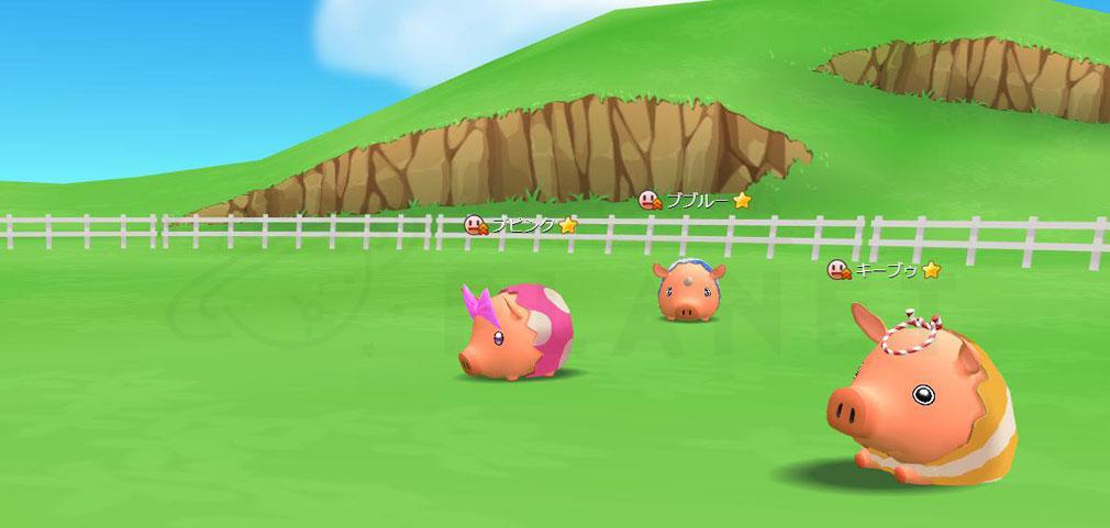 くりぷ豚レーシングフレンズ 『牧場』スクリーンショット