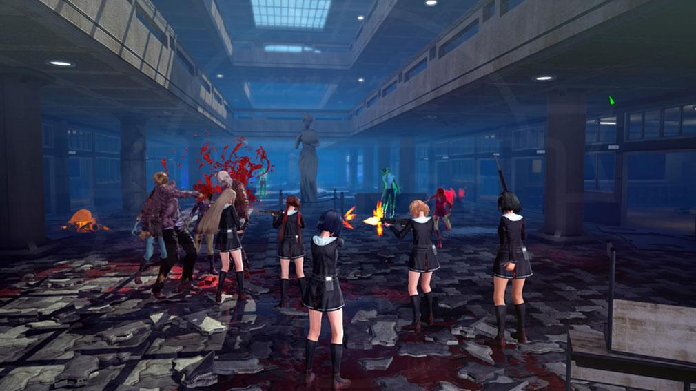 スクールガールゾンビハンター (SG/ZH School Girl/Zombie Hunter) PC オンラインマルチプレイスクリーンショット