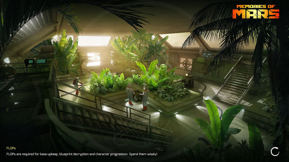 Memories of Mars(メモリースオブマーズ) PC バイオドームで働く特殊クローンの科学者スクリーンショット